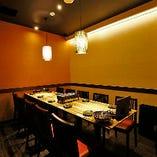 【10名様まで】使い勝手満点!中人数宴会向けの上質なテーブル個室
