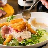 旬食材を使用した彩り鮮やかな創作欧州料理をご堪能ください