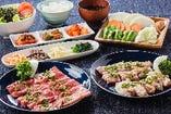 ◆淡路の食材にこだわったコース料理もご用意しております。