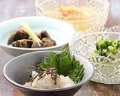 天ぷらの合間に旬の小鉢。