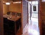 3階は靴を脱いでゆったり。3~6名様用レトロな個室空間です。