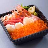 漁火丼(いさりびどん) 3,229円