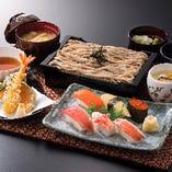 北海道そばや揚げたての天ぷら、鮨など絶品和食を多数ご用意♪