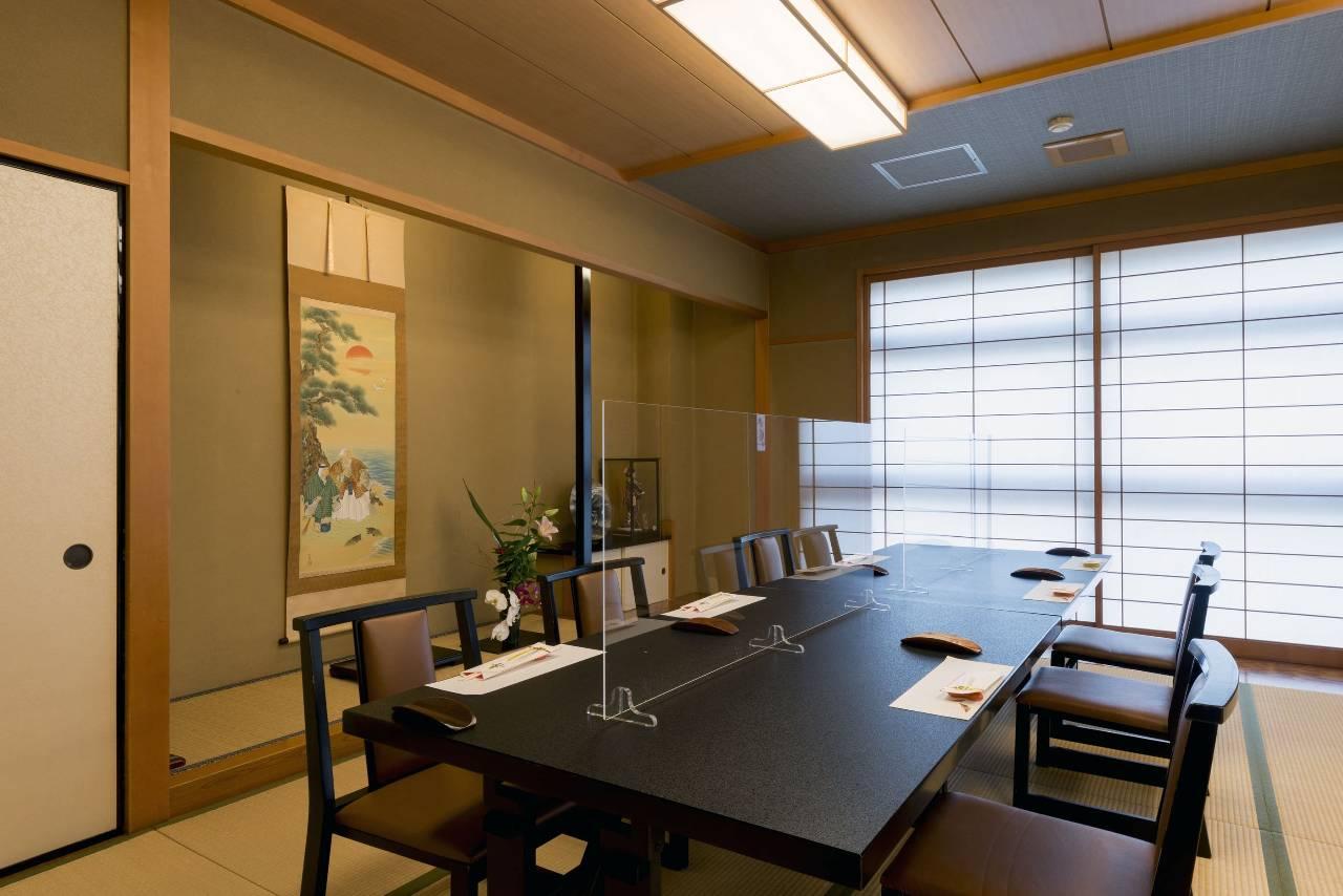 コロナ対策済の完全個室は全5室
