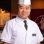 寿司職人歴30年以上、熟練の板前が握る本格的な寿司が楽しめる