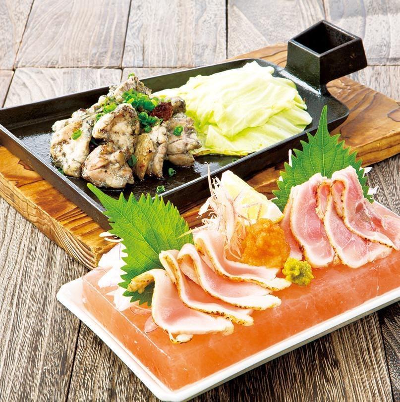 イチオシ!紅楽美鶏の各種一品料理!