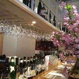 美味しいワインを楽しめるお店です