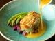 白甘鯛の鱗パリパリ焼き ソース ヴァンブラン