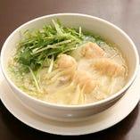 ワンタン入りスープ麺