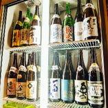 こだわりのお酒!! 厳選した日本酒を数多くご用意♪