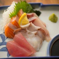 鮮魚お造り4種盛り