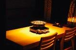 半個室テーブル席(~4名様)×4 (~6名様)×1