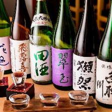 お魚にあう銘酒を50種以上ご用意!!