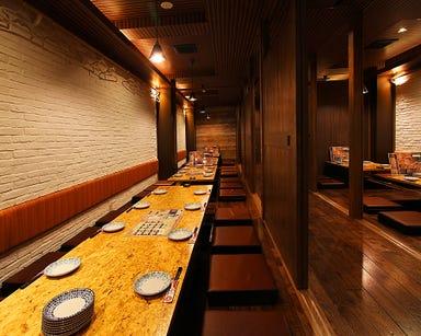 肉バル×個室 本町ココバル55酒場 岡山駅前店 店内の画像