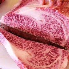 チルド肉を店舗カット