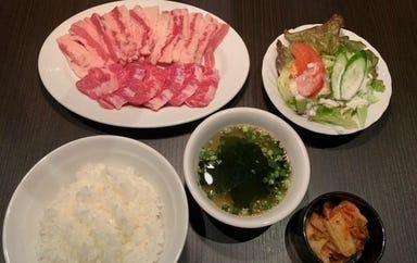 焼肉dining 萬次郎  メニューの画像