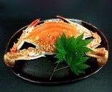 新鮮な魚介類を使用しています。