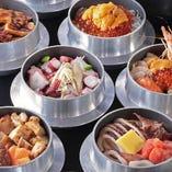 ご注文が入ってから炊き上げる出来立てほやほやの釜めしをお楽しみください。