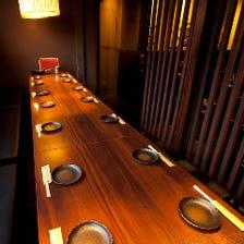 テーブル個室ご用意!