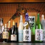 日本酒やジャパニーズウイスキーも揃えておりますので、海外からお越しのゲストにも大変喜ばれます