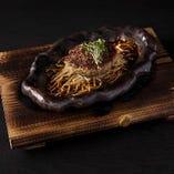 神戸牛100% 鉄板焼ハンバーグ