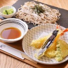 風味豊かな信州蕎麦790円(税抜)〜