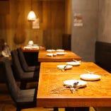 テーブル席(~15名様)
