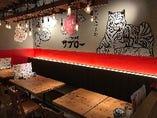 【テーブル席:2~20名様】ワイワイ楽しむ会社宴会やパーティーにおすすめです♪