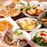 高級食材を使用「超豪華コース」5,500円は記念日や接待に