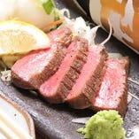 注文率80%の大人気 【牛タン焼き】!一度は食べてみて!