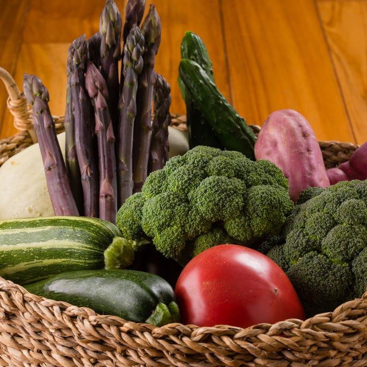 地元の美味しい野菜