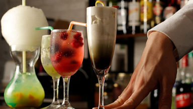 七色のミクソロジーカクテル CAFE BAR CO メニューの画像
