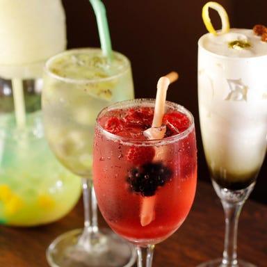 七色のミクソロジーカクテル CAFE BAR CO コースの画像