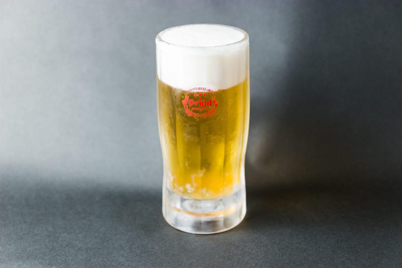焼肉と合うキンキンに冷えたビール