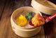 三色小籠包(海老、チーズ、ニラ)