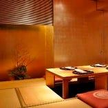贅沢を味わえる金箔の「完全個室」