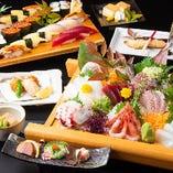 [ご宴会] 寿司屋ならではの豪華なお料理が並ぶコース多数!