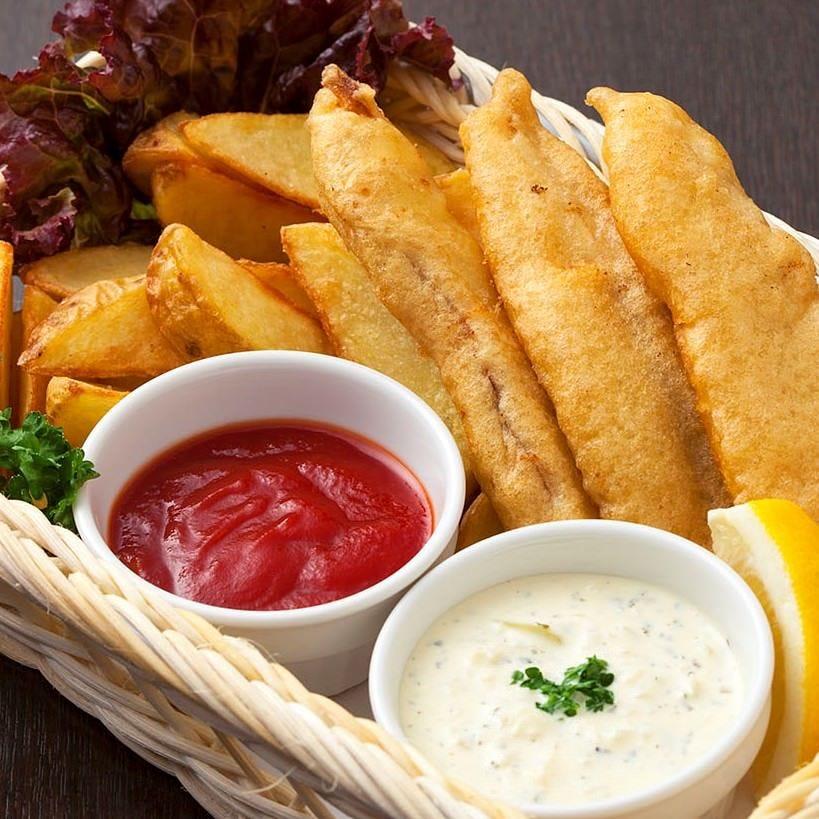 イギリス料理の定番 フィッシュ&チップス