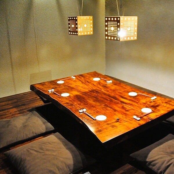 8名様まででご利用可能な個室です。