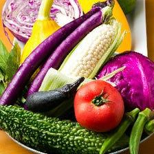 地元で採れた鎌倉の旬野菜