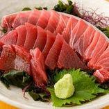 獲れたて鮮魚の素材味が愉しめる自慢の三崎まぐろ