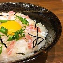 絶品「鯛めし」等の愛媛郷土料理