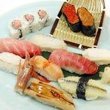 おまかせ寿司(でかネタ)