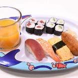お子様握り寿司(ジュース付)