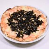 明太子と海苔の薄焼きピザ