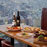 39階の絶景で本格イタリアンを召し上がれ♪