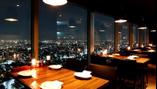 恵比寿ガーデンプレイス39階の夜景を楽しめる絶景テーブル席