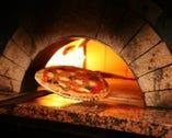 約600℃の石窯で焼きあげる、 本格ナポリ風もちもちピッツァ