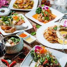 タイ人Chefによる本格タイ料理コース