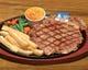 特大サイズ!の 特製リブロースステーキ